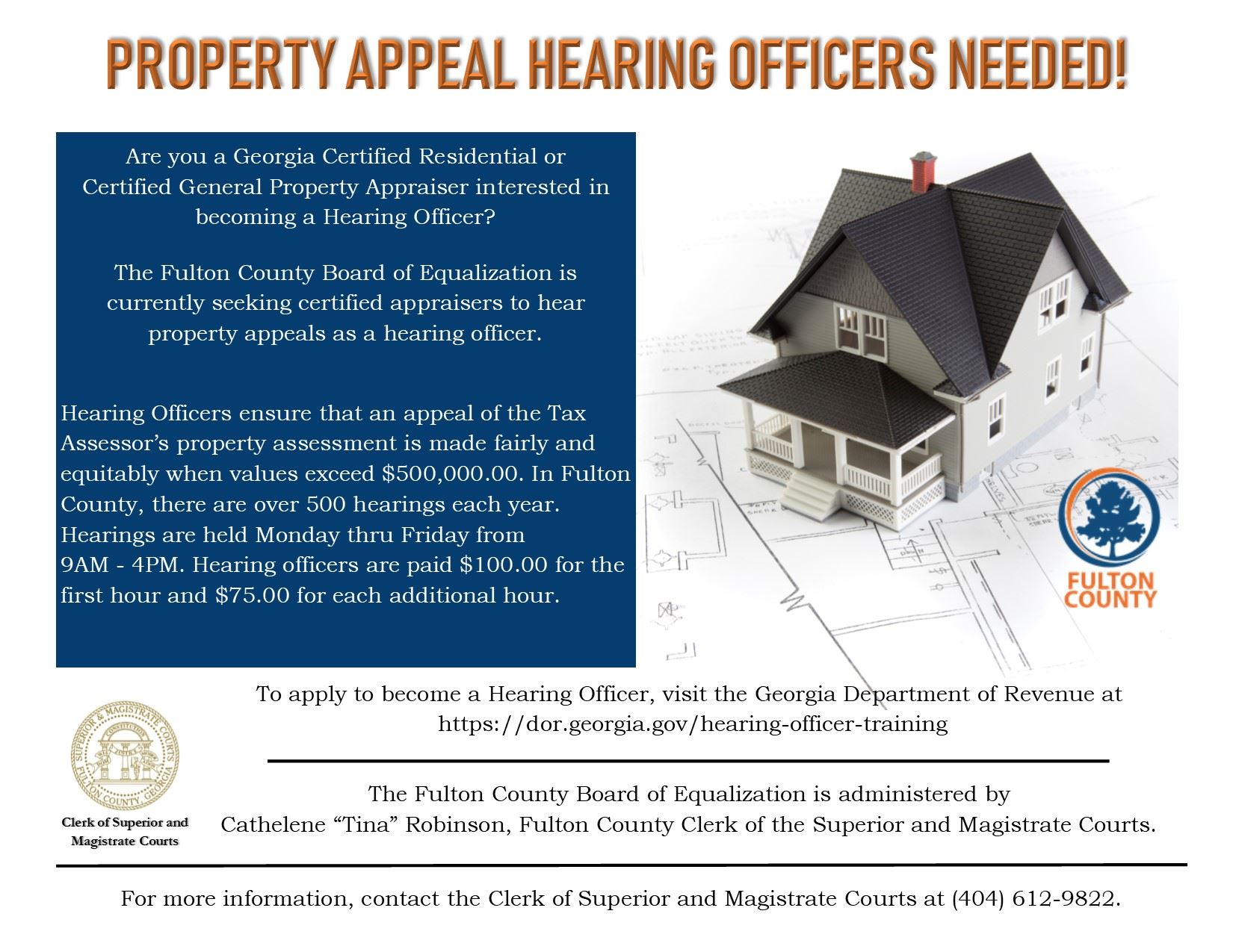 Hearing Officer Flyer